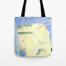 SF City Map Tote Bag
