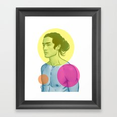 Color-es Framed Art Print