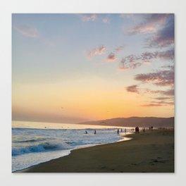 Sky and Ocean Love Canvas Print