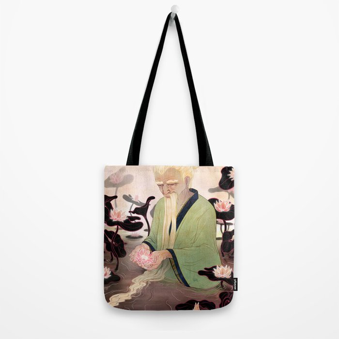 Flowers of Illusion Tote Bag