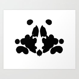 Blot 1 Art Print
