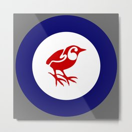 Rockwren Air Force Roundel Metal Print