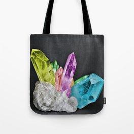 Chakra Rock Crystal - Geode Series Tote Bag