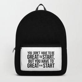 Start! Backpack