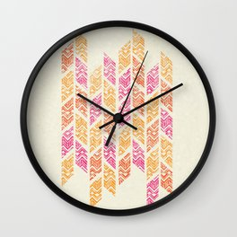 Autumn Leaves - Patterns Wall Clock