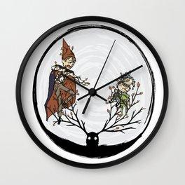 Ensnared Wall Clock