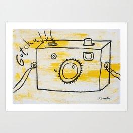 Gotcha! Art Print