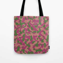Cactus Flower Camouflage Tote Bag