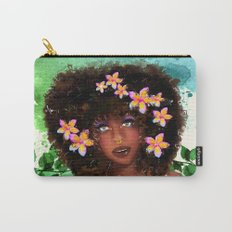 Plumeria girl Carry-All Pouch