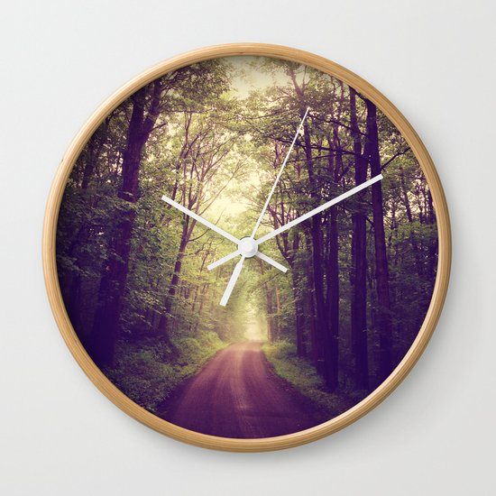 The Sound of Fog Coming Down Wall Clock