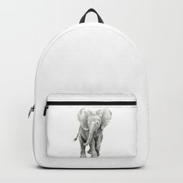 Baby Elephant Watercolor Backpack