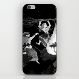 Stand by Him iPhone Skin