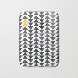 Triangle - Yellow II Bath Mat