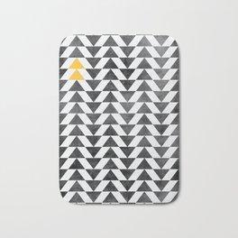 Triangle - Yellow II Bath Mat