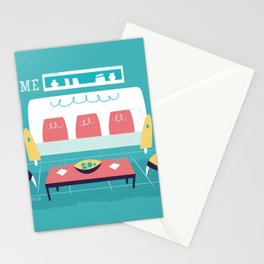 :::Minimal living room::: Stationery Cards