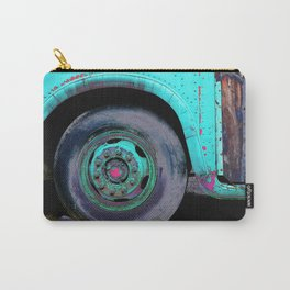 Bus Wheel Carry-All Pouch
