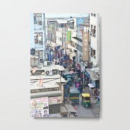 India New Delhi Paharganj 5537 Metal Print