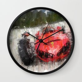 F 156 Sharknose Wall Clock