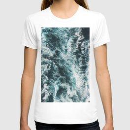 Green Seas, Yes Please T-shirt