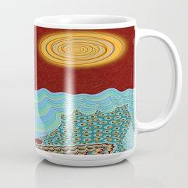 The Young Man And The Sea Coffee Mug