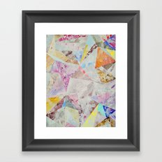 Abstract painting 25 Framed Art Print