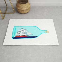A Ship in a Bottle Rug