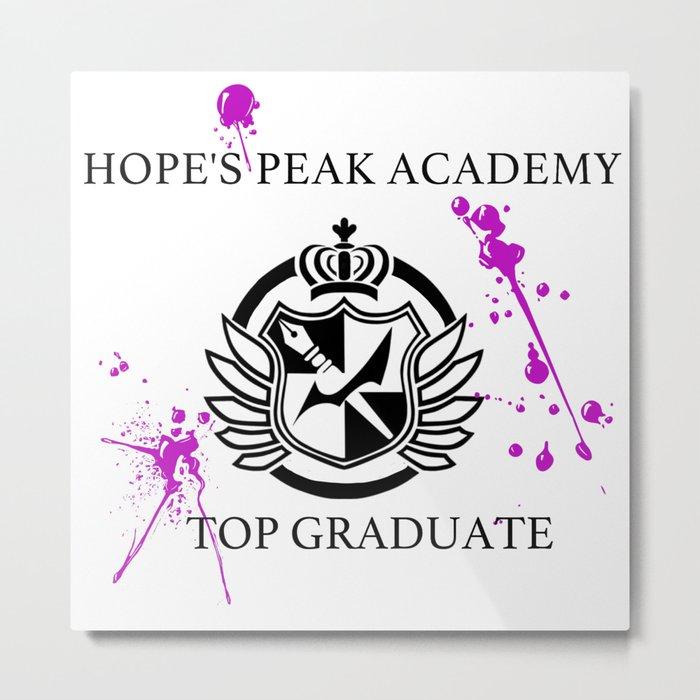 Hope's Peak Academy Metal Print