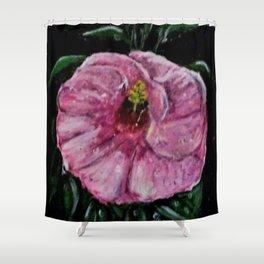 Erika's Magenta Flower Shower Curtain