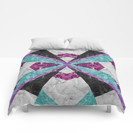 Marble Geometric Background G443 Comforters