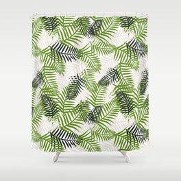 Light Ferns Shower Curtain