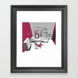 Souvenirs - Puppies Framed Art Print