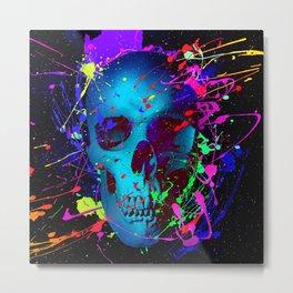 Paint Till You Faint Metal Print