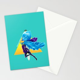 Faih, the Goddess Sword Stationery Cards