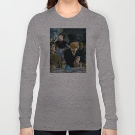 Édouard Manet - The Café-Concert Long Sleeve T-shirt