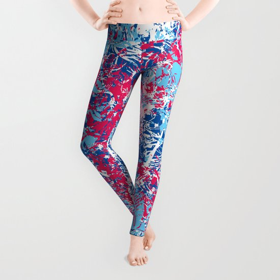 Abstract 4 Leggings