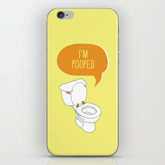 Toilet Pun iPhone & iPod Skin