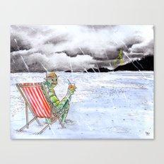 Creature Beach Canvas Print