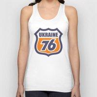 ukraine Tank Tops featuring DgM UKRAINE 76 by DgMa