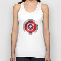 targaryen Tank Tops featuring SHIELD by Smart Friend