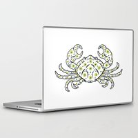 cancer Laptop & iPad Skins featuring Cancer by Müge Başak