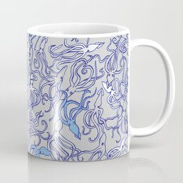 Squids of the inky ocean Coffee Mug