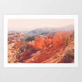 Morning Glow in Bryce Canyon Fine Art Print Art Print