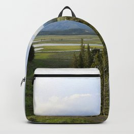Yellowstone River Valley View Backpack