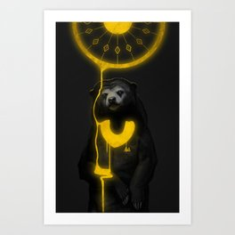 The Majestic Sun Bear Art Print