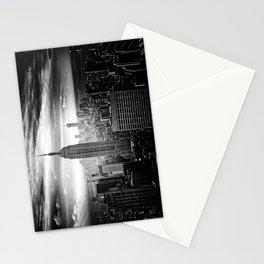 New york city black white 2 Stationery Cards