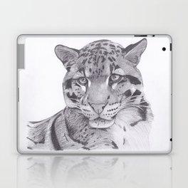 Clouded Leopard - Big Cat Laptop & iPad Skin