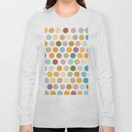 bohemian circles Long Sleeve T-shirt