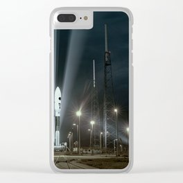 Why Do Rockets Launch At Night Clear iPhone Case