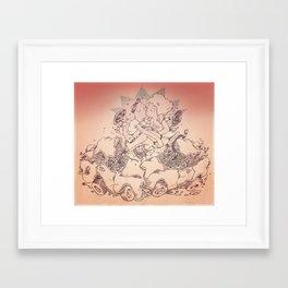 The Ideal Crash Framed Art Print