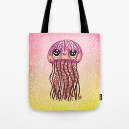 Happy Jellyfish  Tote Bag